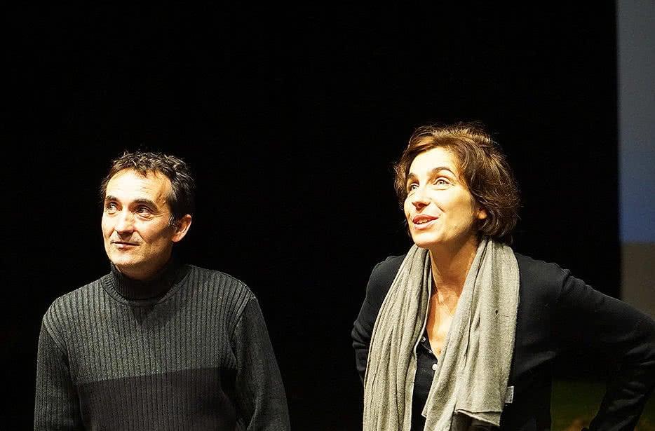 Jean-Philippe LABADIE et Élise DUBROCA, fondateurs de Atelier 40 - Groupe Artistique